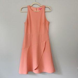 Betsey Johnson Coral Sleeveless Cocktail Dress - 4
